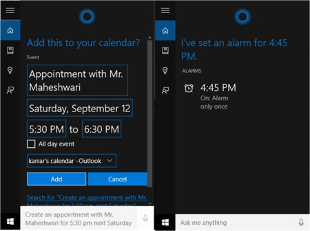 cortana-assistant-appointment-alarms