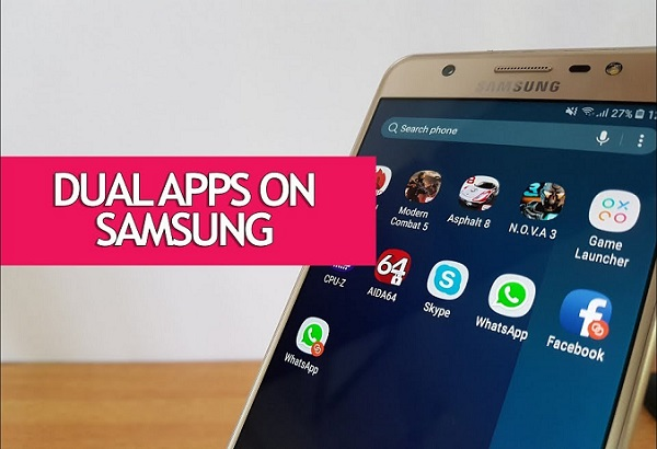 Dual Apps on Samsung