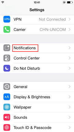 find-notifications-settings