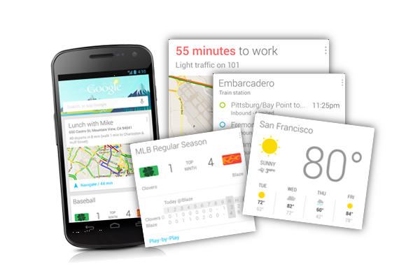 Google Now Functions