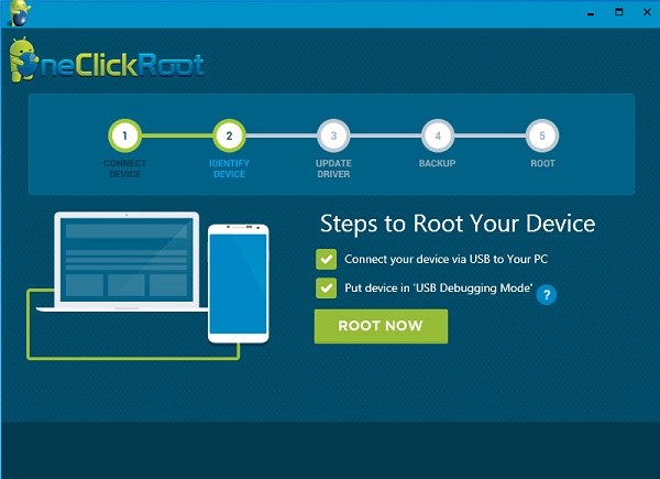 OneClick Roote: Start Rooting