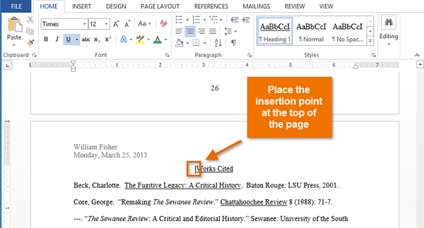 how to insert page numbering into a pdf