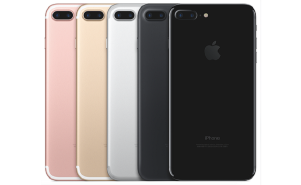 iPhone 7 in Different Colors