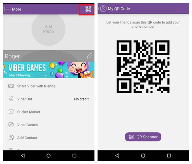 sacn qr code how to add contacts to viber on android,Viber Invite