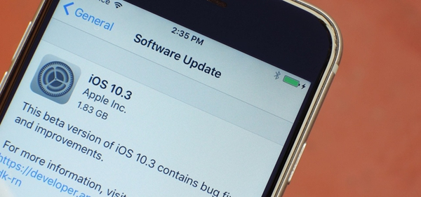 Software Update iOS 10